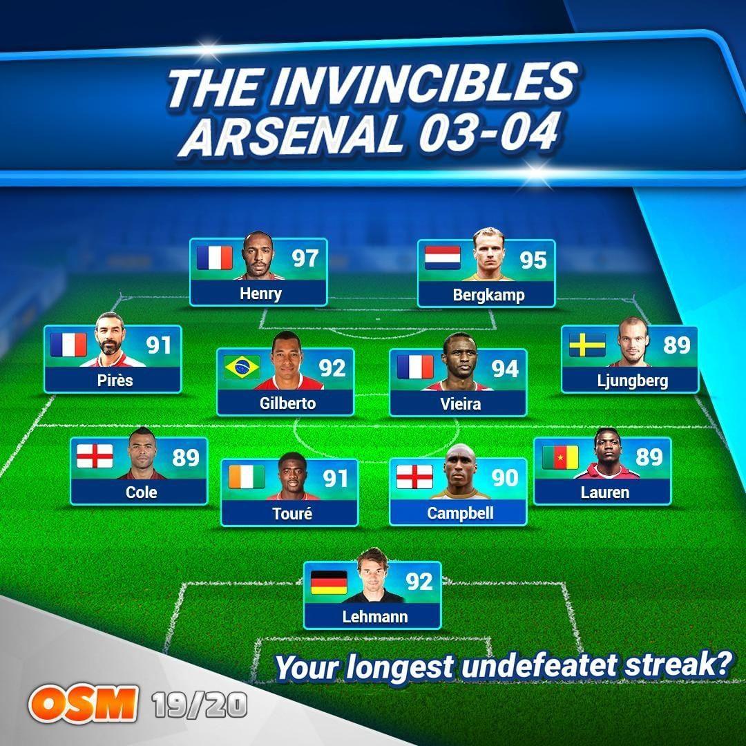Arsenal Invincibles Osm Forum